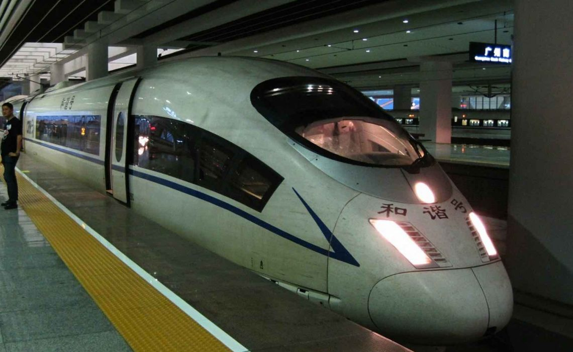 hong kong china high speed rail