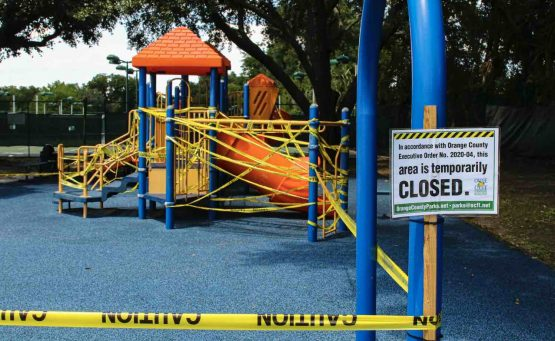 Playground Closed, House Open